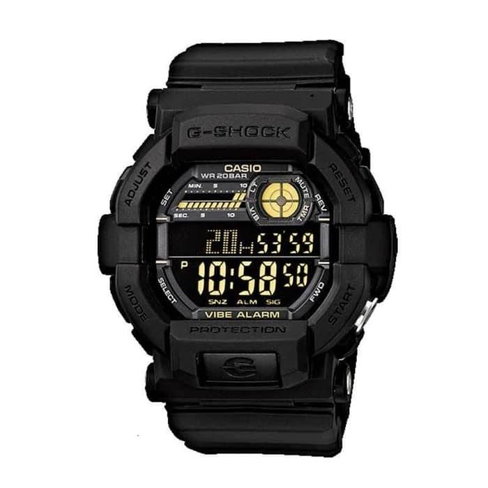 Jam Tangan Pria Casio G-SHOCK GD-350-1BDR Black Hitam Original Murah