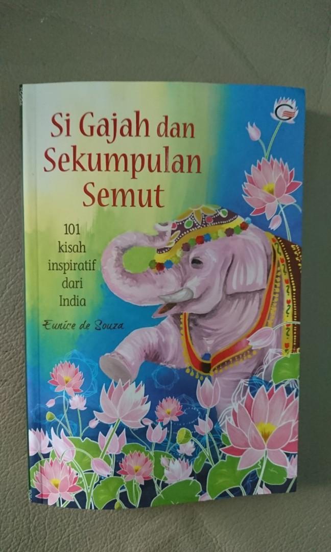 Kisah Inspiratif Si Gajah dan Sekumpulan Semut #maujam