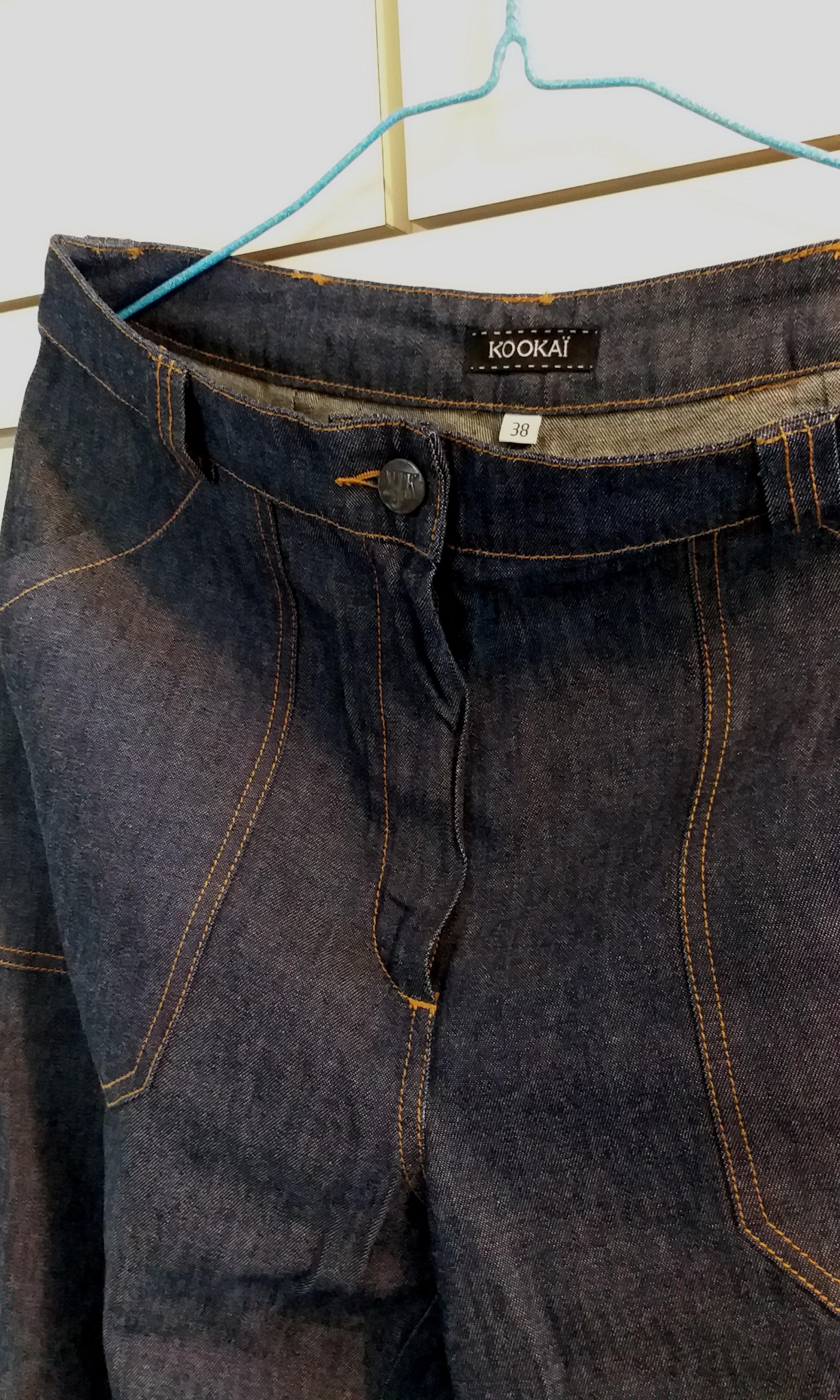 全新KOOKAI薄身牛仔褲(歐碼38)