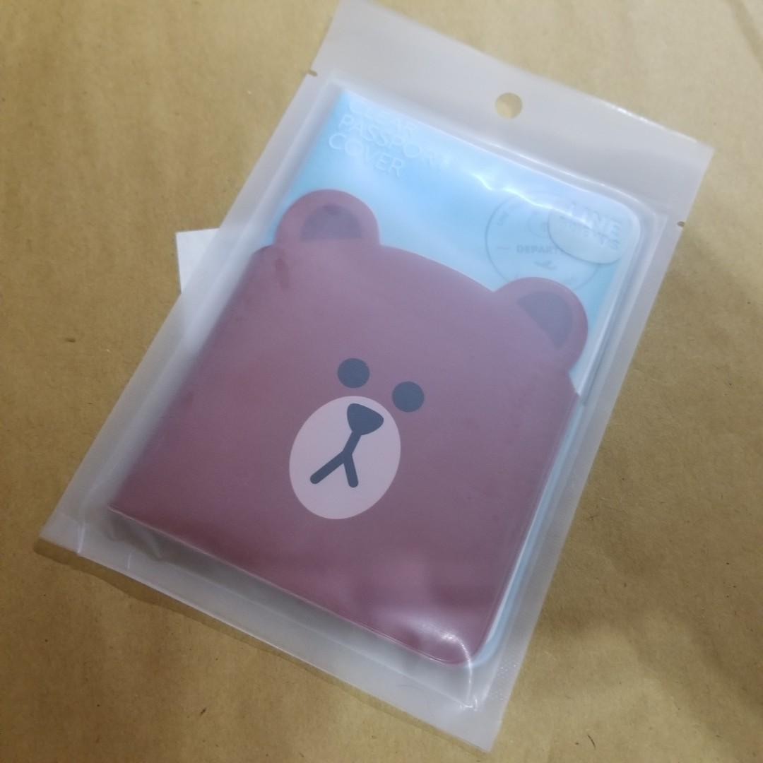 Line Friends Brown 護照套 passport cover