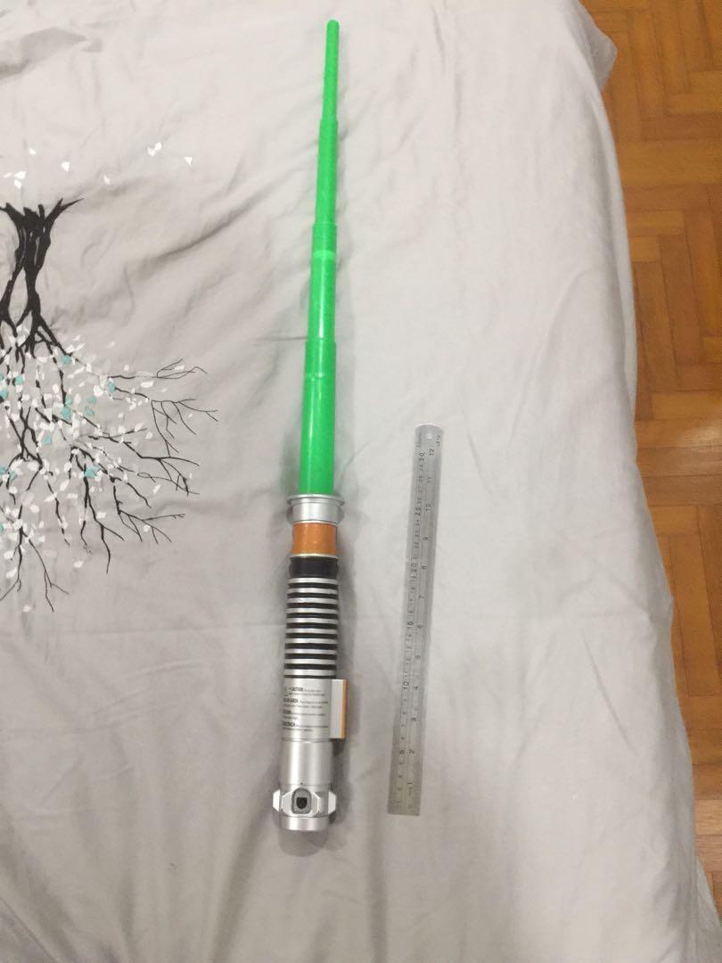Luke Skywalker green lightsaber