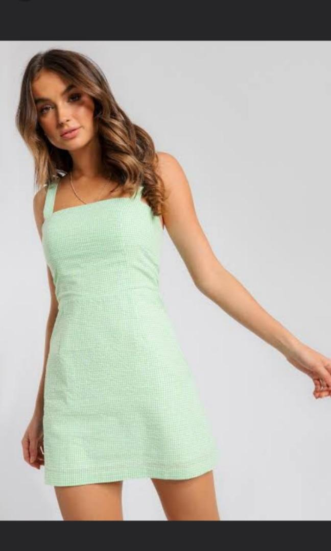 Lulu and Rose green dress