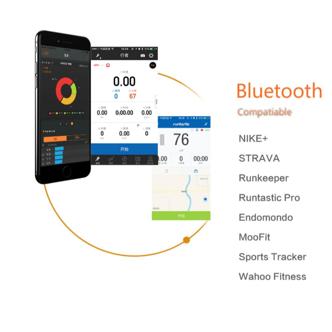 💯🆕Magene Mover Dual Mode ANT+ & Bluetooth 4.0 Heart Rate Sensor Monitor for cycling, gym, indoor training