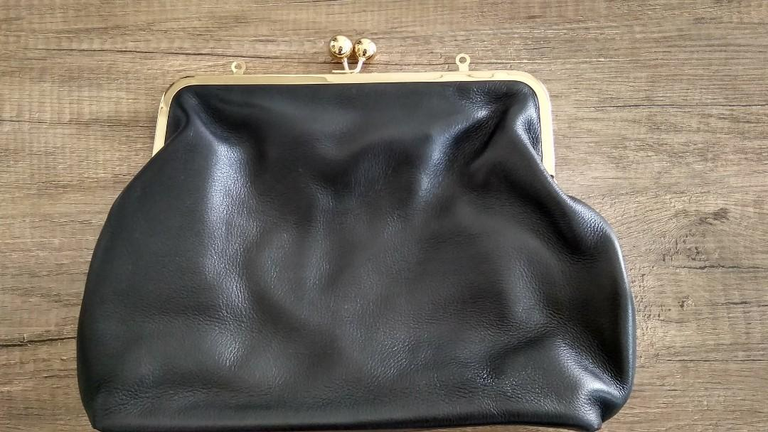 Maxi Purse Leather Bag