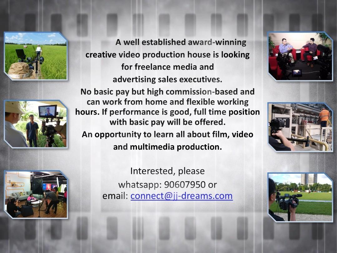 Freelance Media and Advertising Sales Consultant