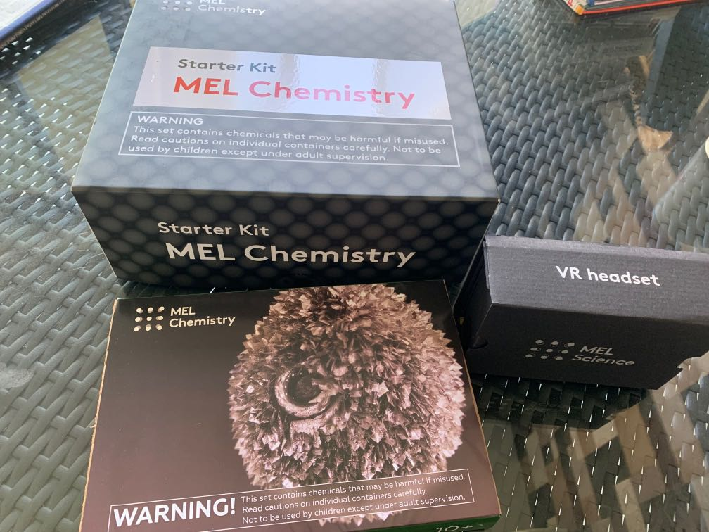 MEL Chemistry Experiments (as good as new)
