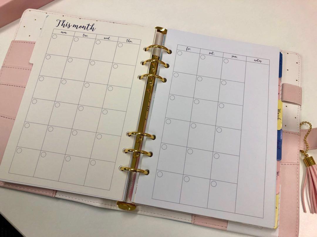 [New]Love Doki Year Planner schedule book notebook 活頁全年記事簿