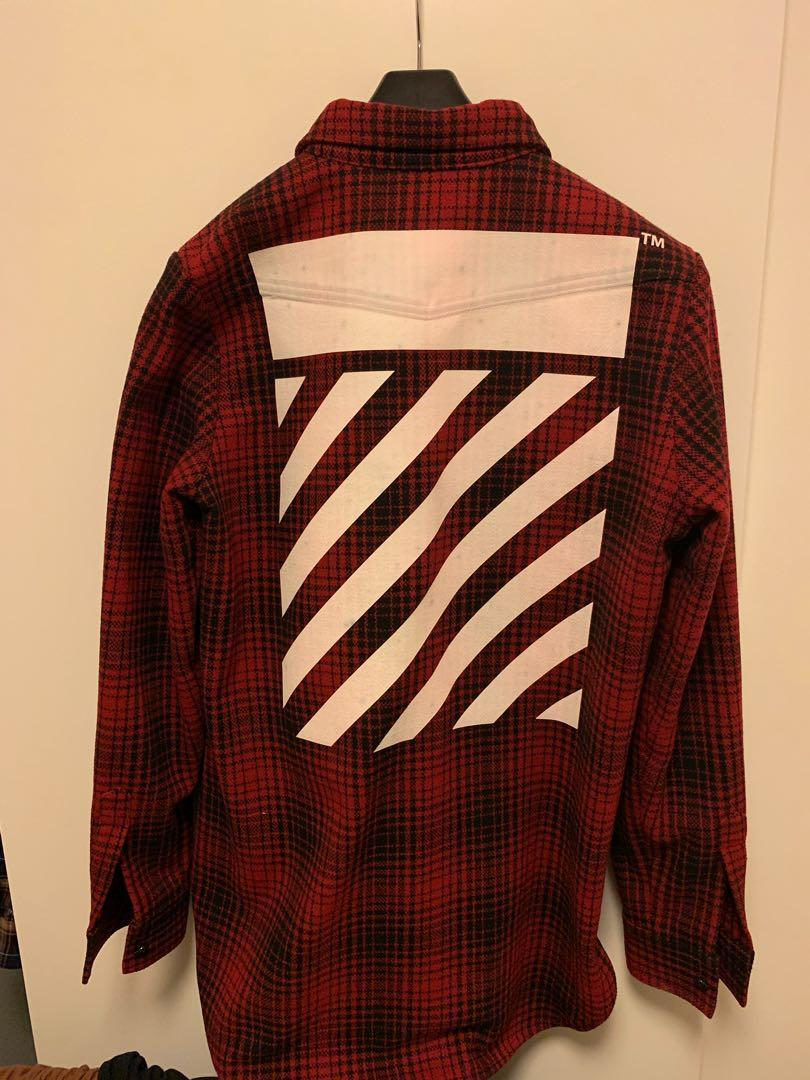 OFF-WHITE • Flannel jacket Size S
