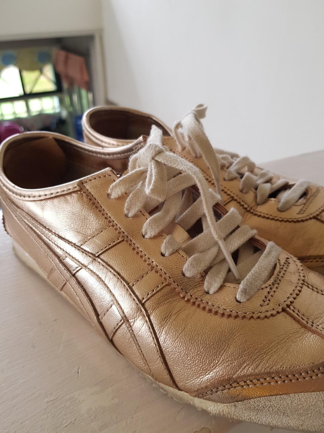 low priced 1999e ad2d3 Onitsuka Tiger Mexico 66 sneakers - rose gold metallic on ...
