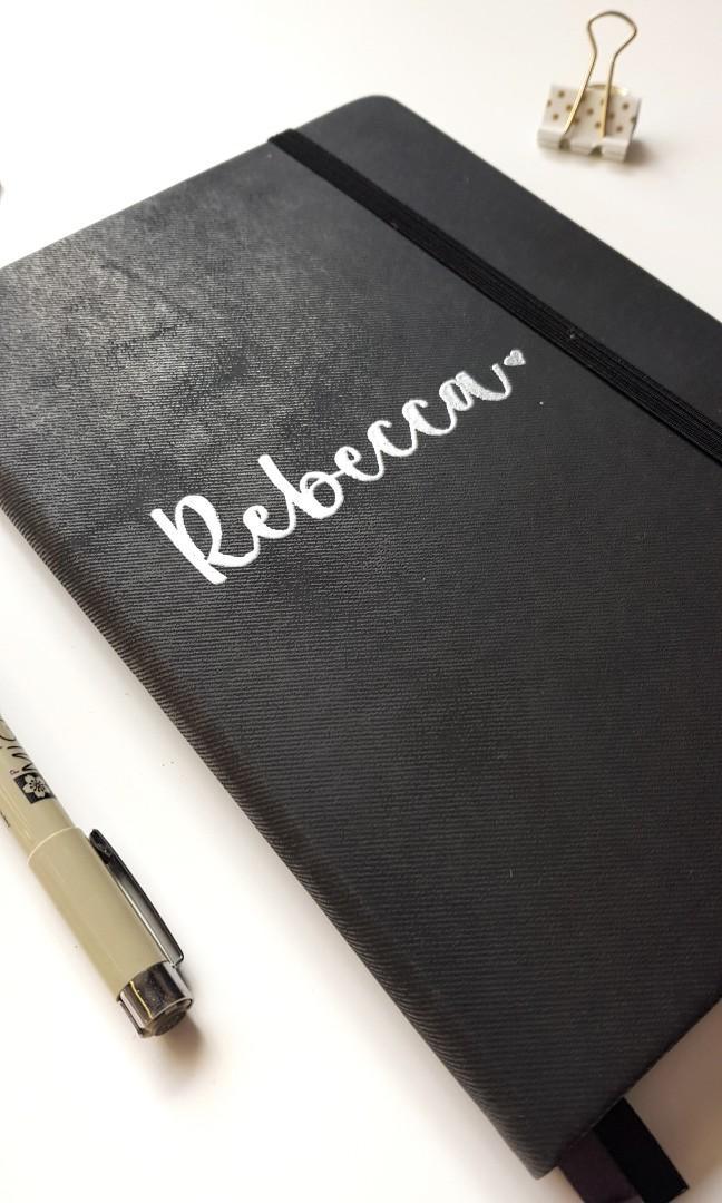 Personalised Bullet Journal