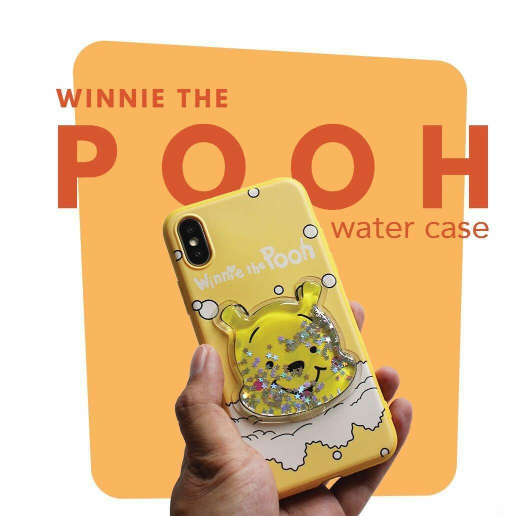 #BAPAU PREMIUM WATER CASE IPHONE OPPO XIAOMI POOH PIGLET