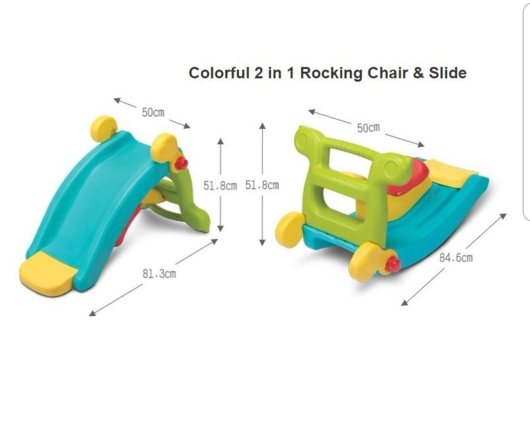 Rocking chair cum slide