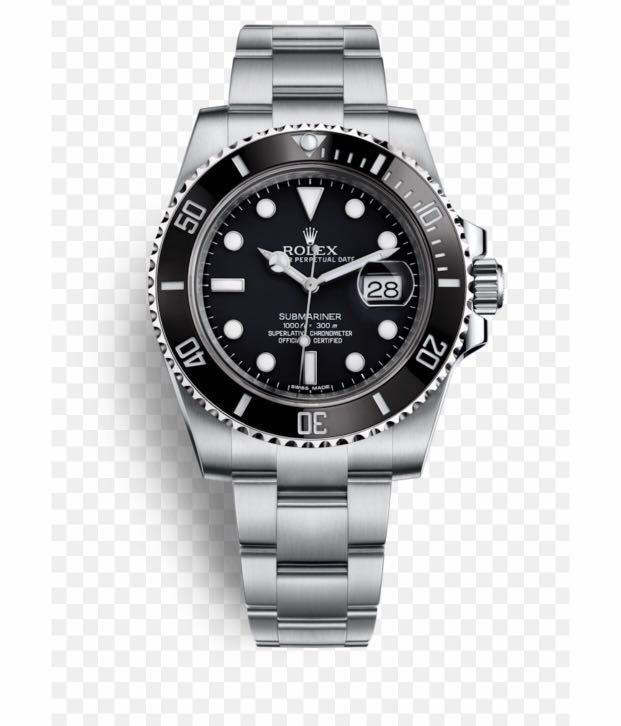 Rolex submariner black (with date)