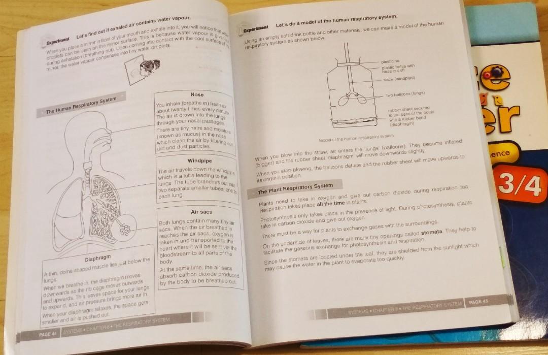 Science Upper & Lower block guide books