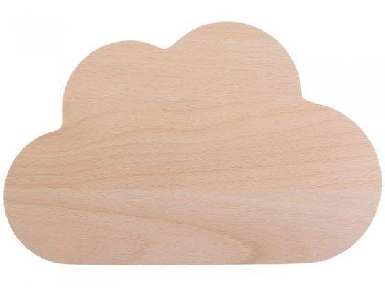 Snug studio wooden cloud board
