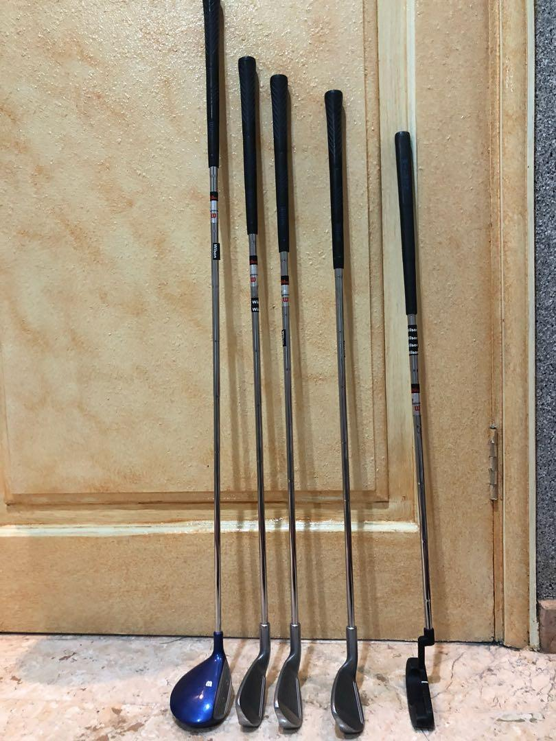 stick golf anak merek Wilson