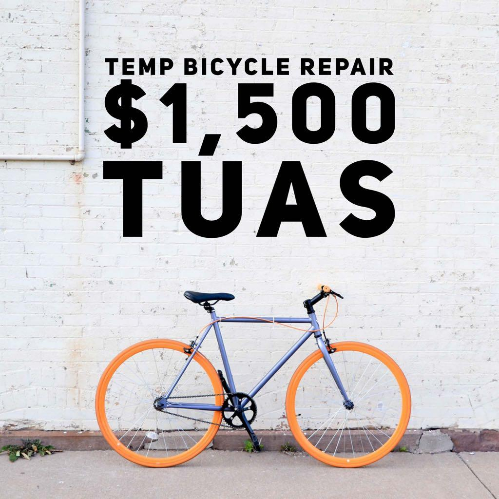 Temp Bicycle Repair | $1,500 | Tuas | WhatsApp 96904256