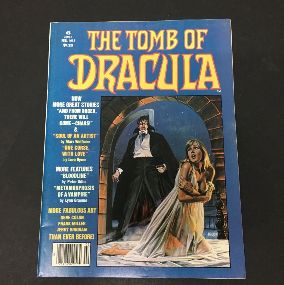 The Tomb Of Dracula 3 Marvel Comics Book Horror Movie
