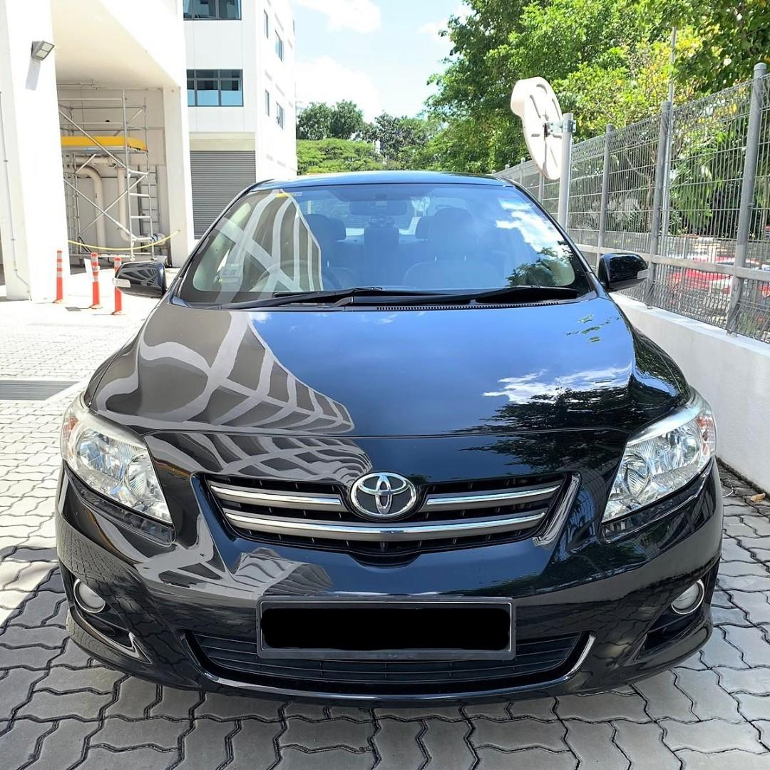Toyota Altis Cheapest to rent/  PHV Go Jek and Grab Car rental Personal Use