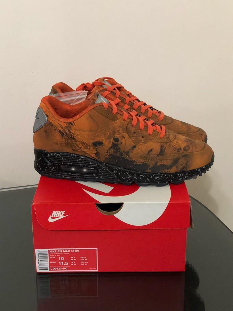 detailed look 02568 ec6c4 US10 Nike Air Max 90 QS - Mars Landing, Men s Fashion, Footwear, Sneakers  on Carousell