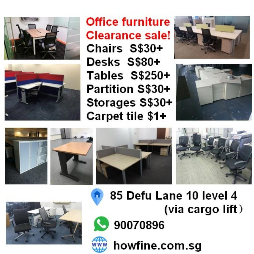 1 office chairs workstation partition used office furniture