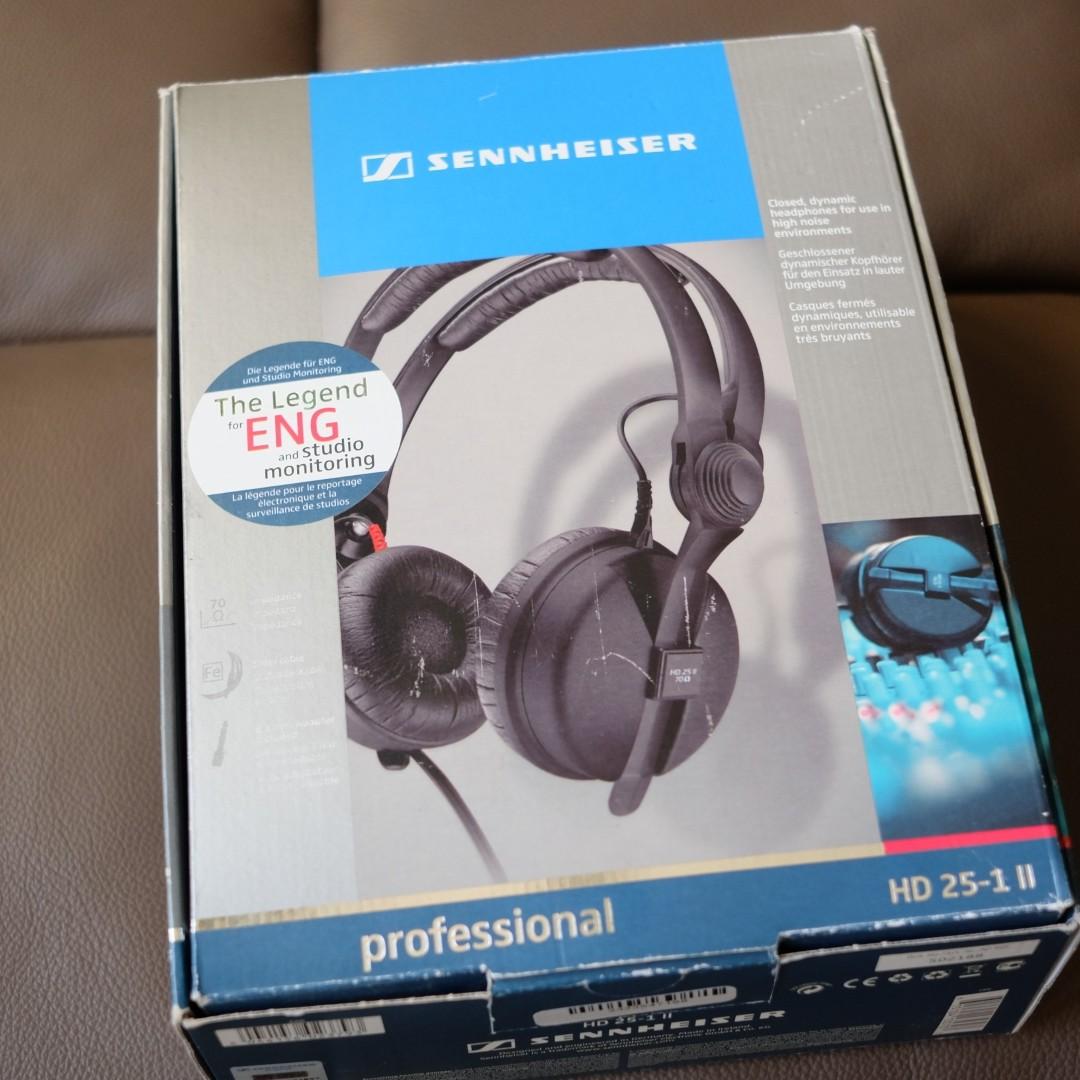 Used Sennheiser Hd 25 1 Mark 2 Made In Ireland Electronics Audio