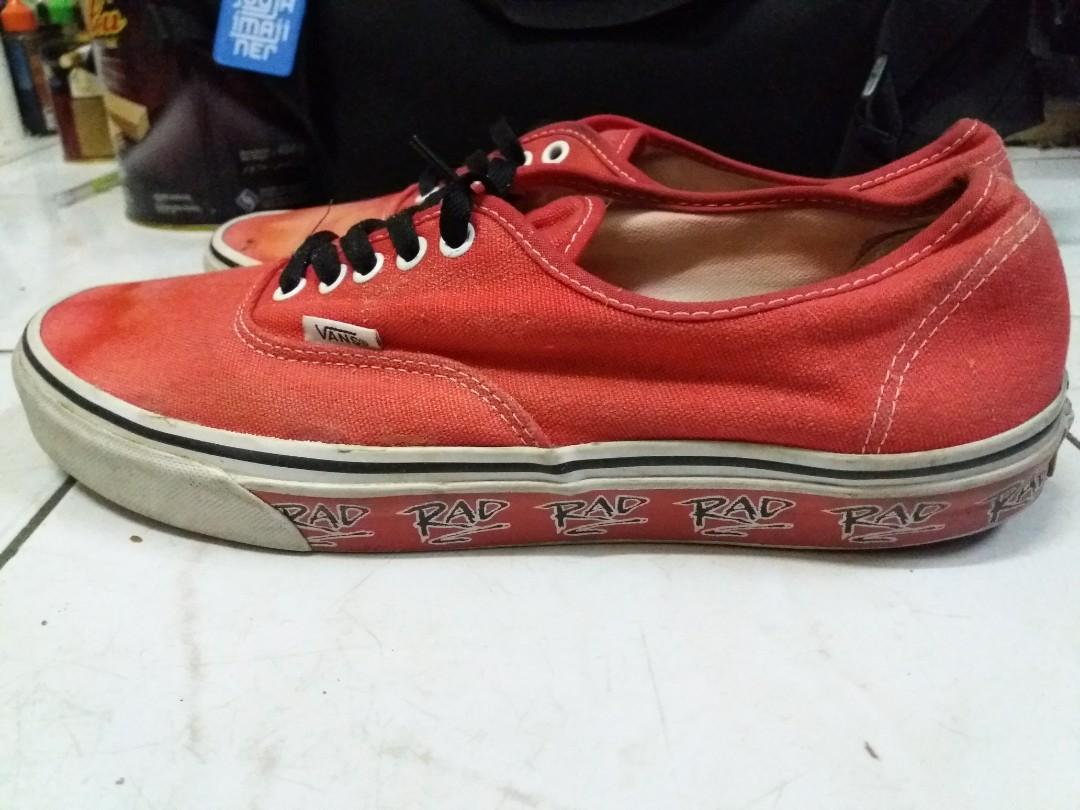 Vans Authentic Red (Redpec)