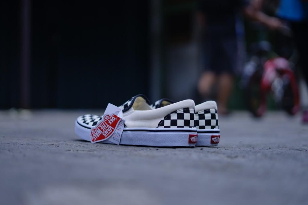 Vans classic checkerboard slip on (JPN MRKT)