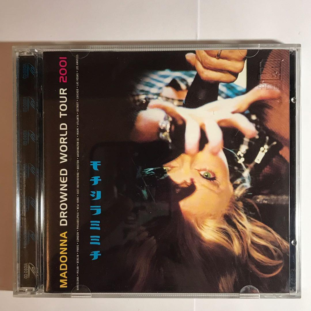 VCD : 2001 MADONNA DROWNED WORLD TOUR 2001