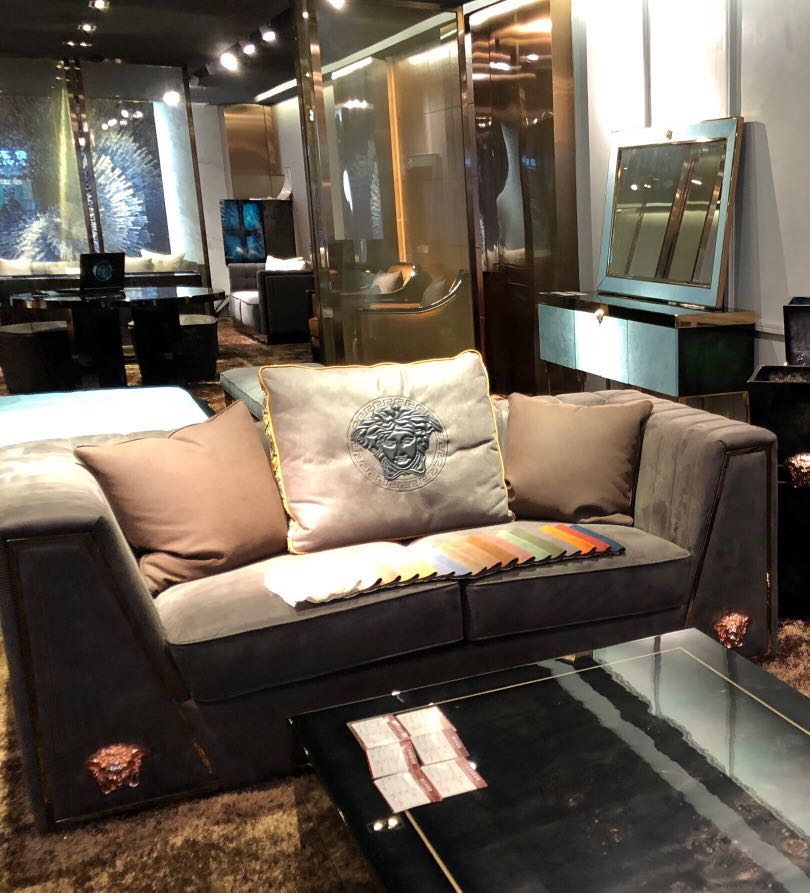 Versace Full Leather Sofa Furniture Sofas On Carousell