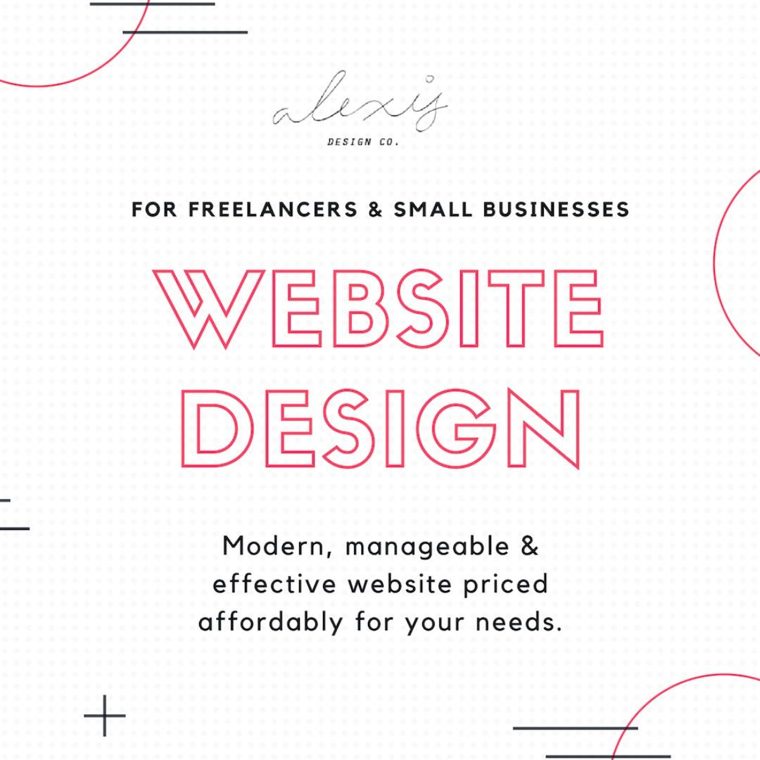 Website Design for Small Businesses & Freelancers