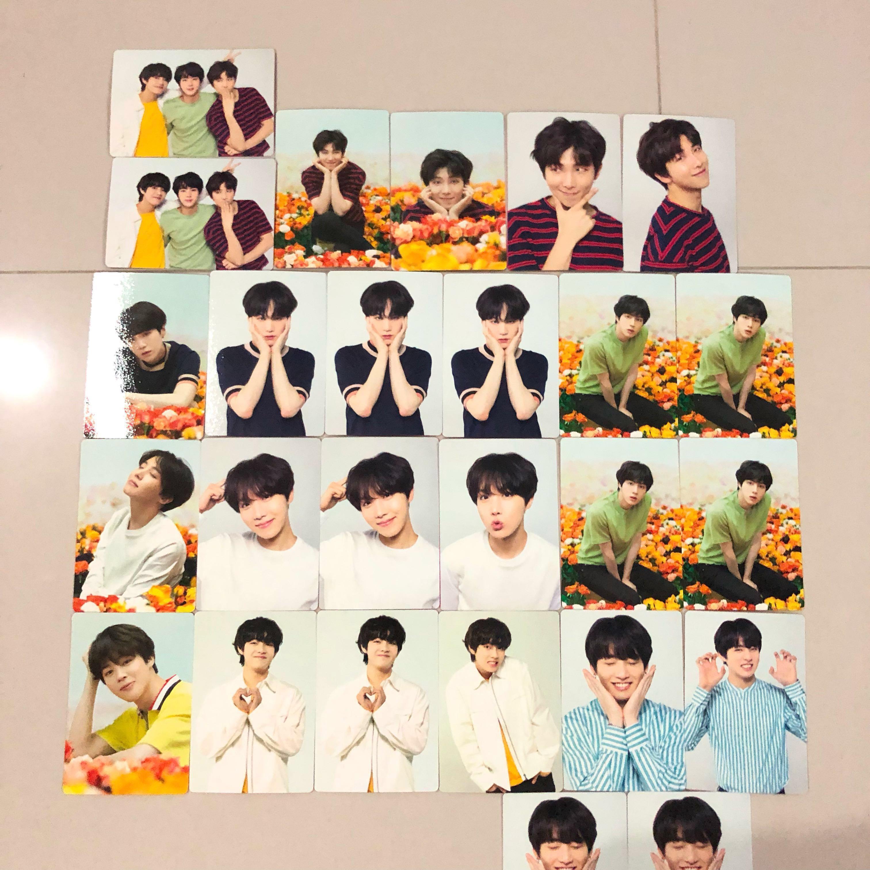 WTT Japan Love Yourself Mini Photocards / Photocard / PCs