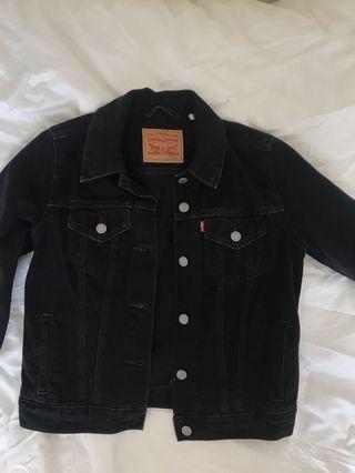 Levi's Black Denim Jacket