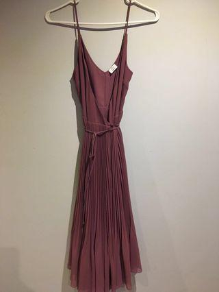 Wilfred beaune dress