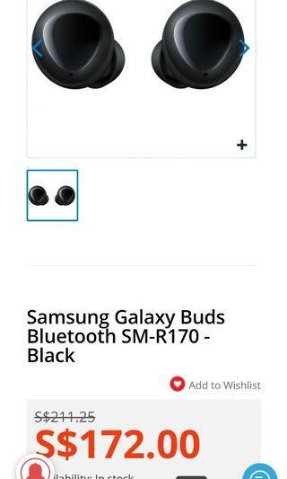 WTB Samsung Galaxy Buds