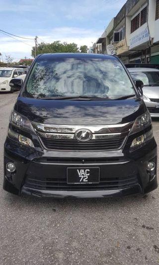 Toyota Vellfire For Rent