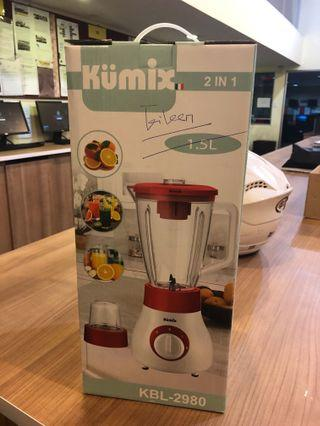 🚚 Kumix powerful 2-in one blender