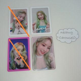 [WTS] TWICE Dahyun Fancy Photocards