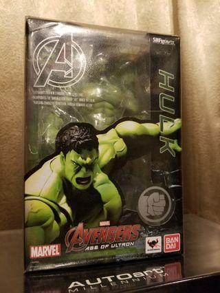 100% new 全新日版靚盒shf Avengers age of Ulton Hulk