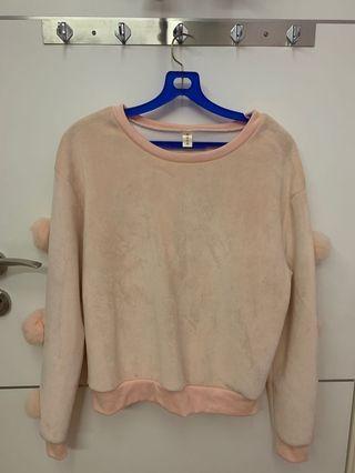Soft Pink Cute Sweater