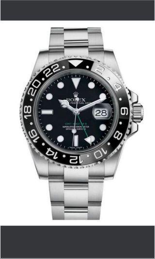 WTB Rolex GMT-Master II 116710LN