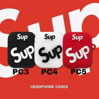 Supreme Airpods Case (Fits both generation)