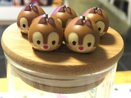 Tsum Tsum Chip n Dale 大鼻 鋼牙 擺設 Disney 迪士尼