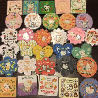 Hello Kitty 7-11 襟章(國家名稱)