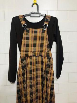 Dress set brown