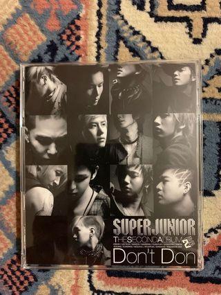 Super Junior - Don't Don ( Japanese )