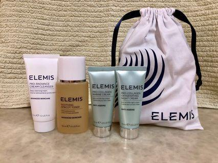 ELEMIS Facial Care Travel Set with pouch