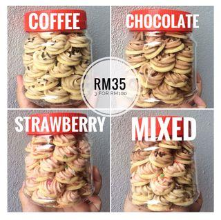 Meringue Cookies (50pieces)