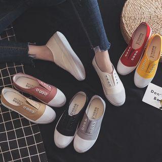 懶人帆布鞋