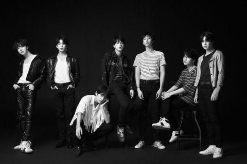 BTS防彈少年團LOVE YOURSELF轉 專輯海報